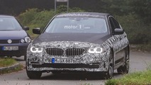 New BMW 5 Series Sedan and Touring spy photos