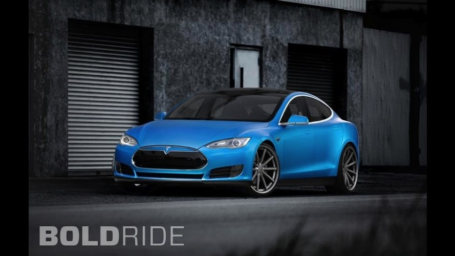 Vossen Tesla Model S