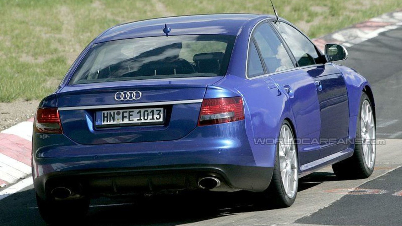 Audi RS6 Spy Photos