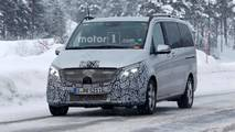 Mercedes-Benz V-Class Spy Photos