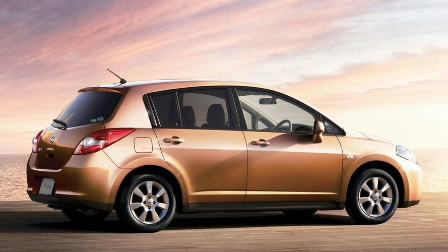 Nissan Tiida Facelift Revealed