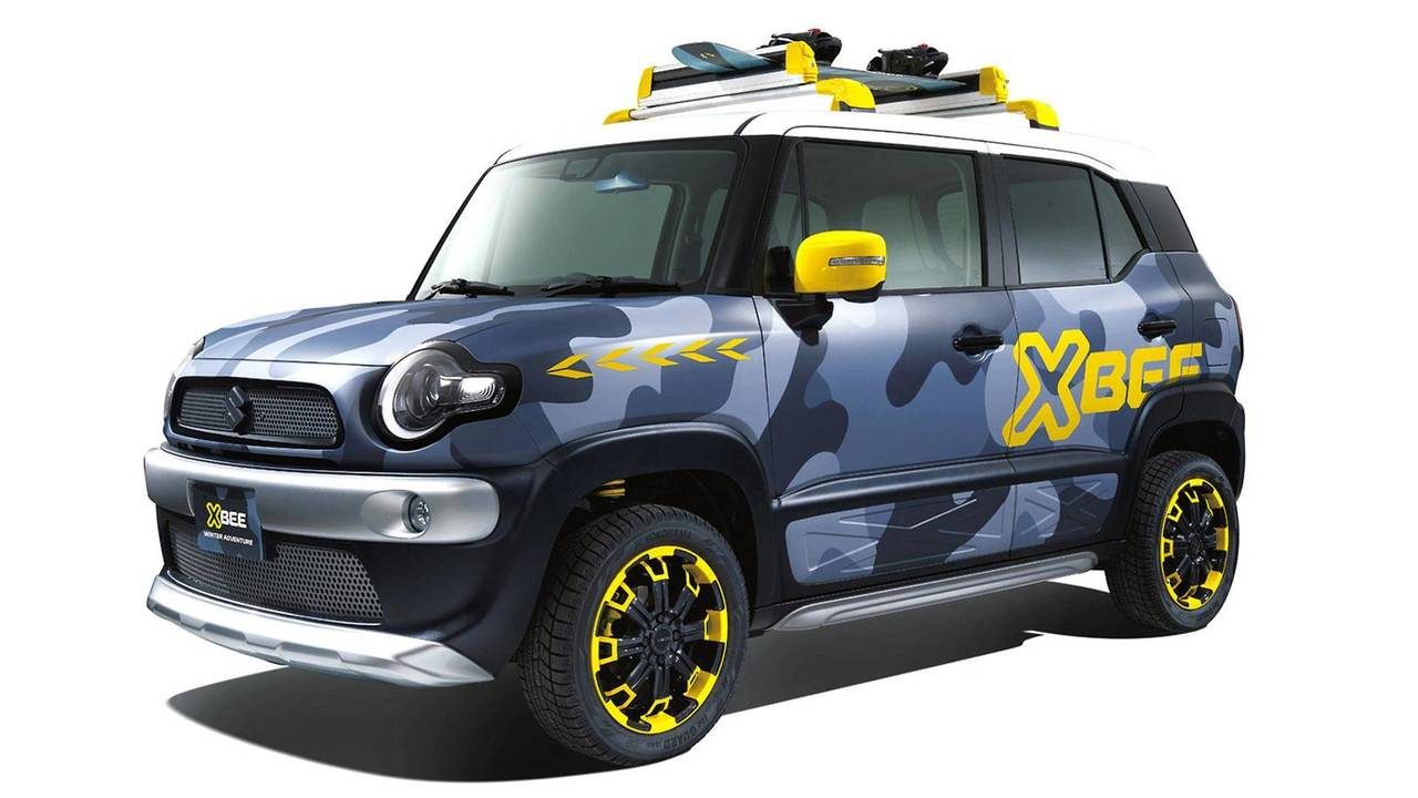 Suzuki Xbee Winter Adventure Concept