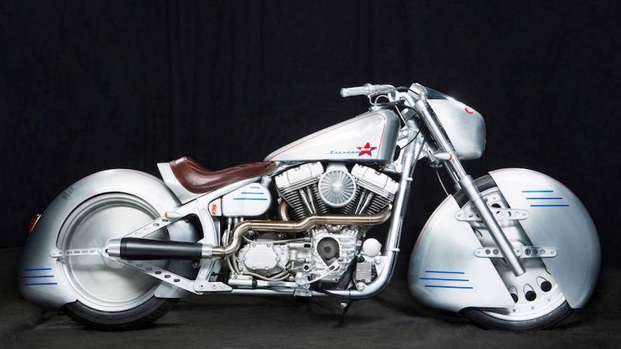 Bike of the Week: Shif Custom's Yuri Gagarin Tribute