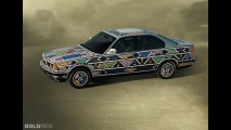 BMW 525i Esther Mahlangu Art Car