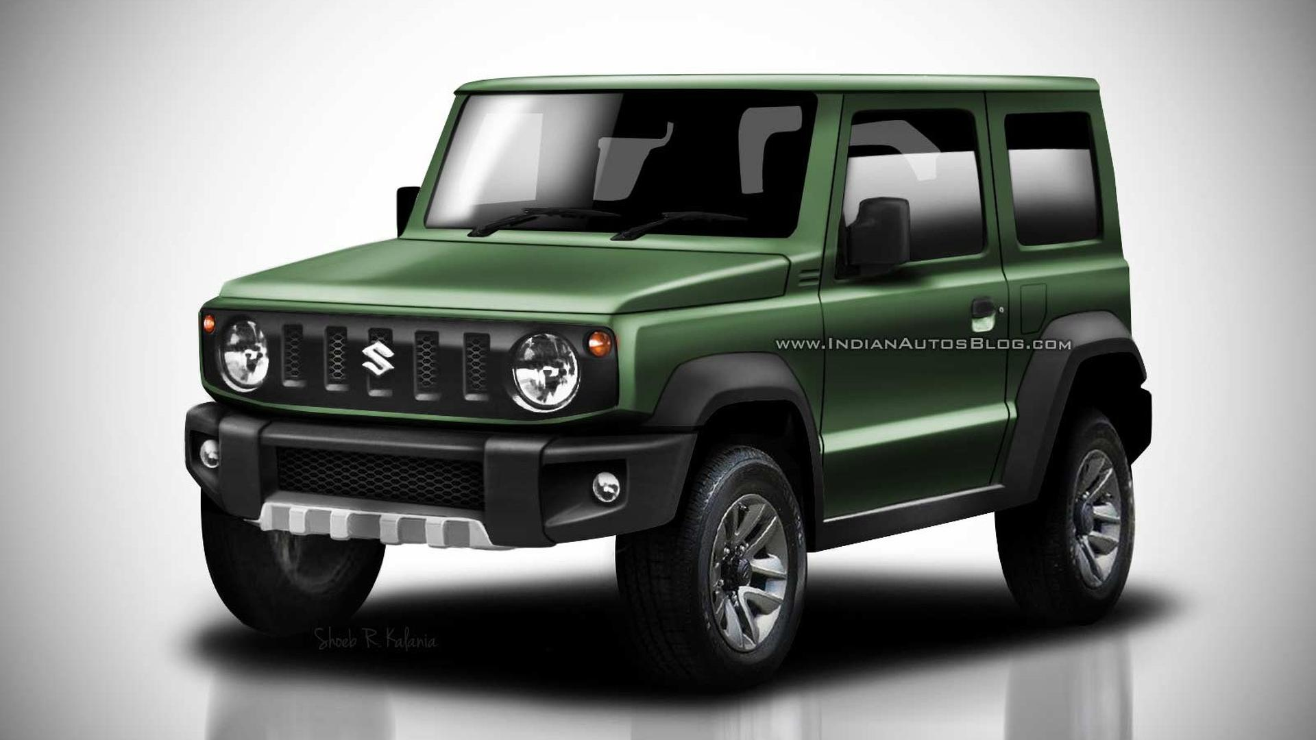 2018 Suzuki Jimny Leaked Images Go High Res In Colorful Renders