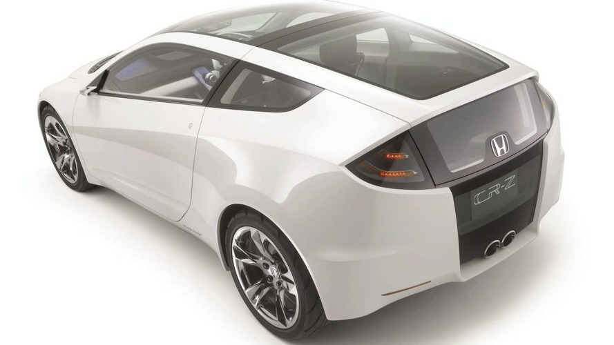 Honda to launch CR-Z and Fit Hybrids in 2010