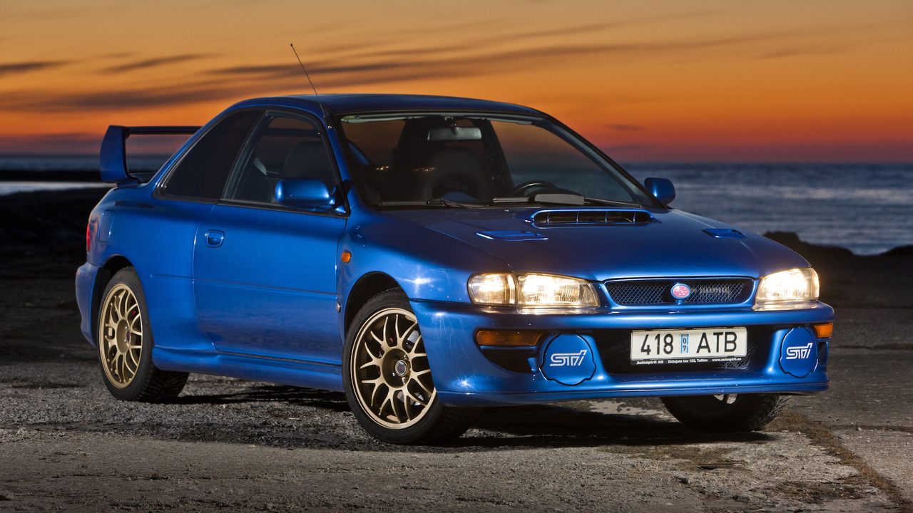A Holy Grail Subaru Impreza 22B STi is up for sale
