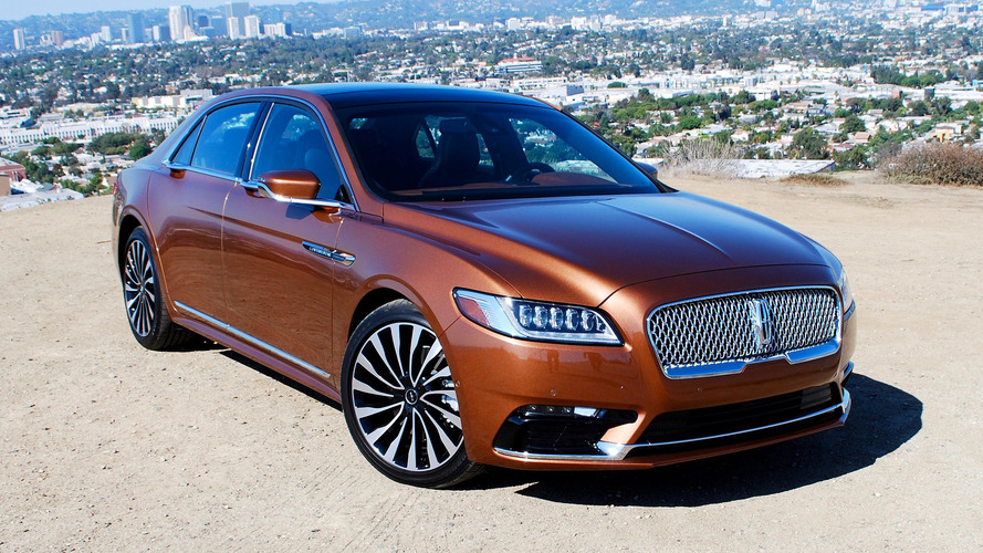2017 Lincoln Continental First Drive: Another honest Lincoln