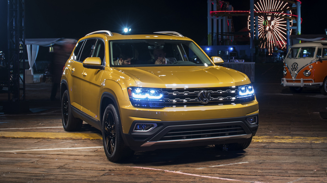 2018 Volkswagen Atlas revealed with two engines, three rows