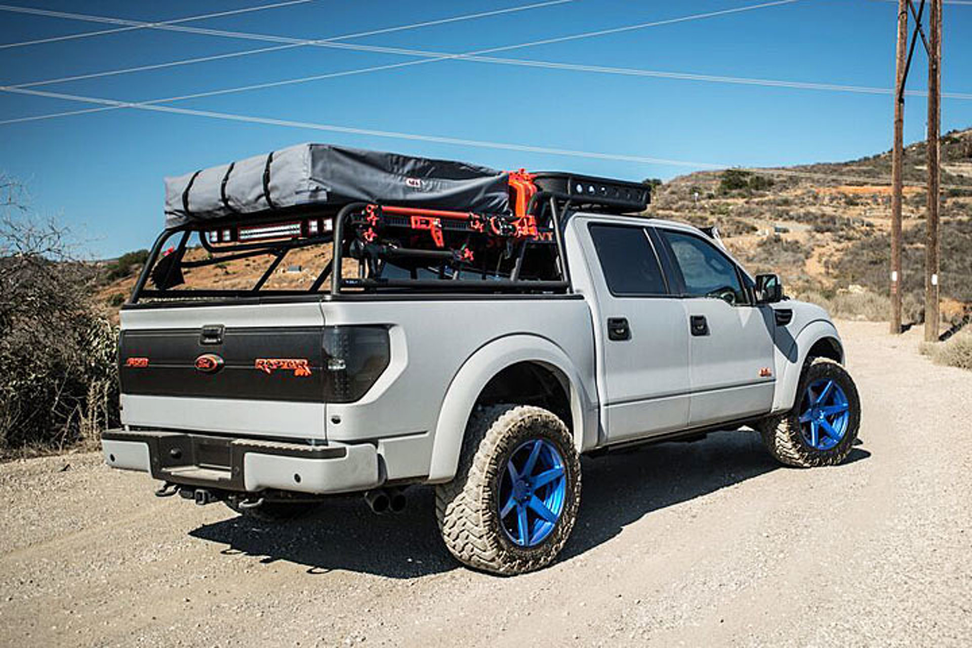 Ford Raptor 2013 >> This Ford Raptor is Now a 590-HP Camping Vehicle