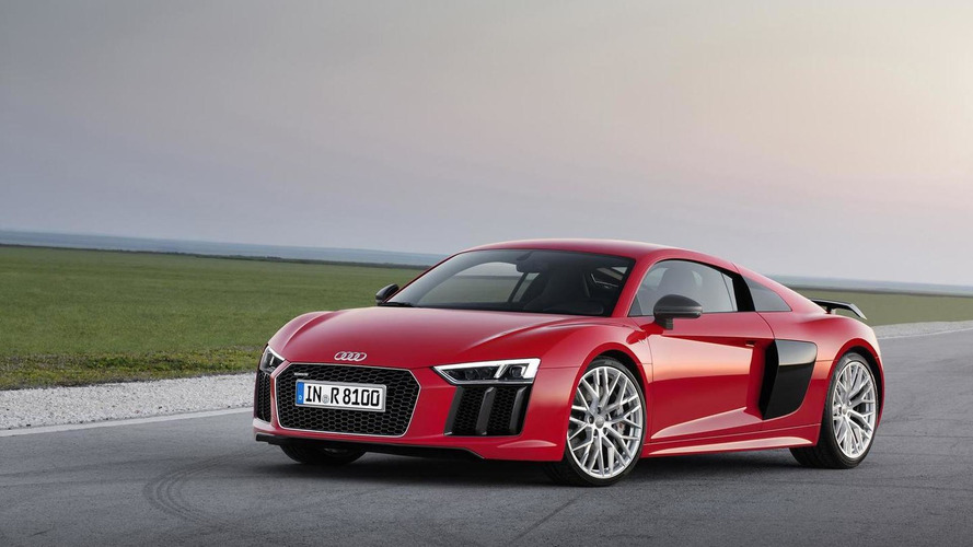 Audi officials confirm the R8 will eventually get a turbocharged engine