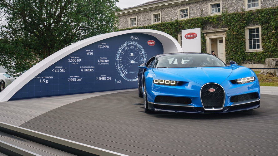 Goodwood 2017 - Le stand Bugatti pour le Festival of Speed