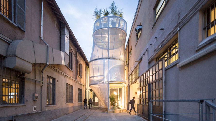 Mini Has Built A See-Through Concept House In Milan
