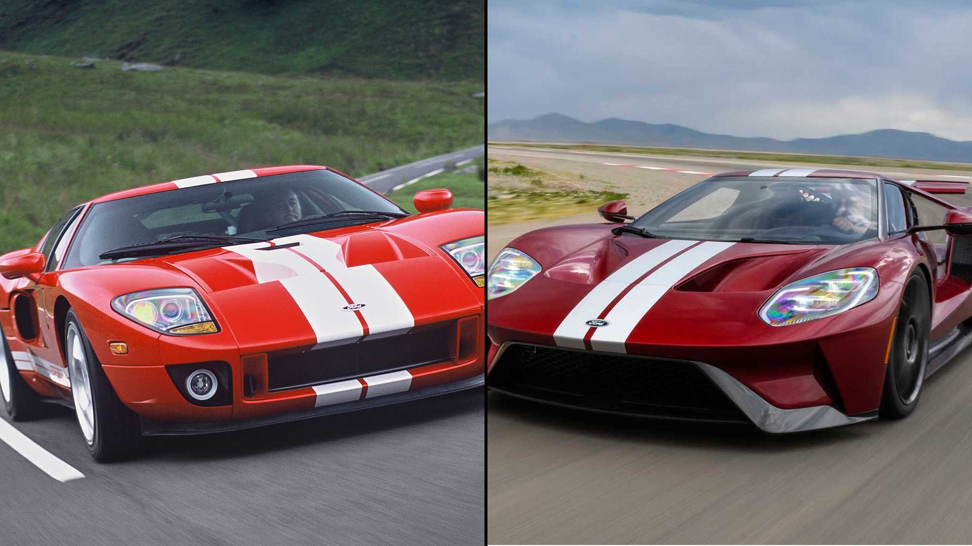 Ford Gt Old Vs New Can The Older Model Keep Up