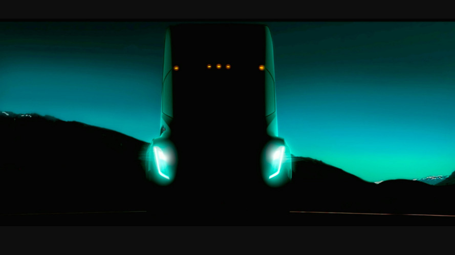 Tesla Semi Teased — Aims To Deliver Sports Car Handling
