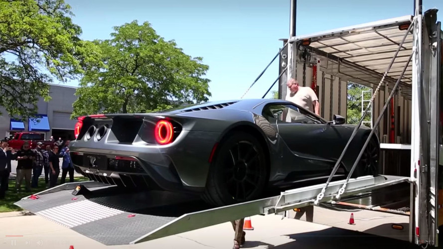 See Performance Guru Jack Roush Take Delivery Of His 2017 Ford GT