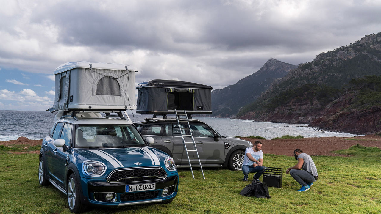 Mini Countryman roof tent