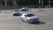 2018 Mercedes A-Class screenshots from spy video