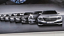 Mercedes indirectly revealed most of the 2016 E-Class exterior