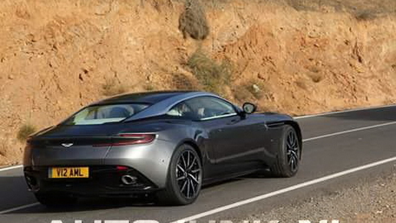 Aston Martin DB11 spy photo (not confirmed)
