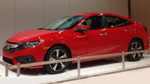 2016 Honda Civic at Orange County International Auto Show