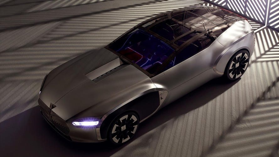 Renault releases comprehensive gallery with Coupe Corbusier concept