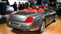 Bentley Continental GTC Speed at 2009 NAIAS