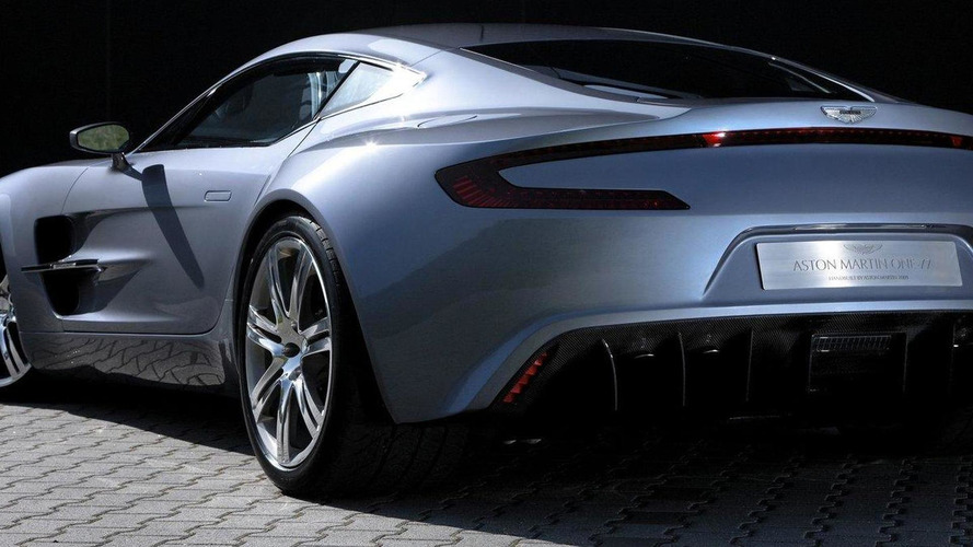 Aston Martin One-77 reaching sellout status