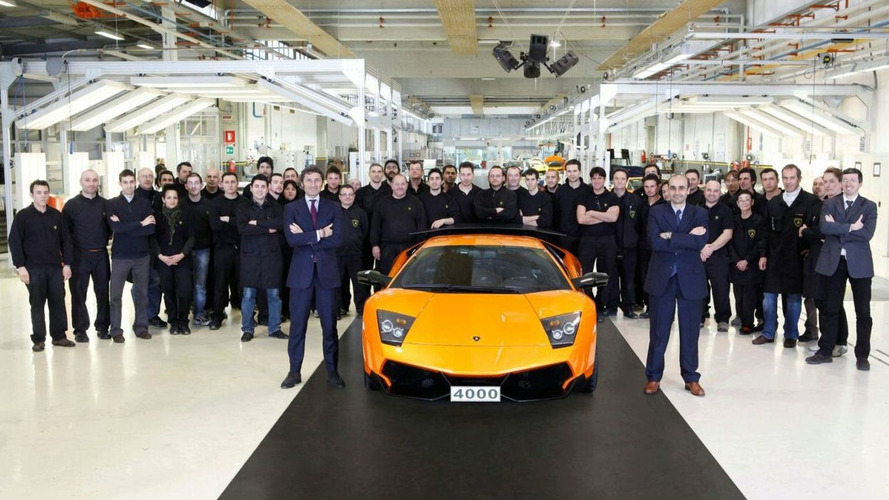 Lamborghini Produces 4,000th Murcielago - Arrives in China