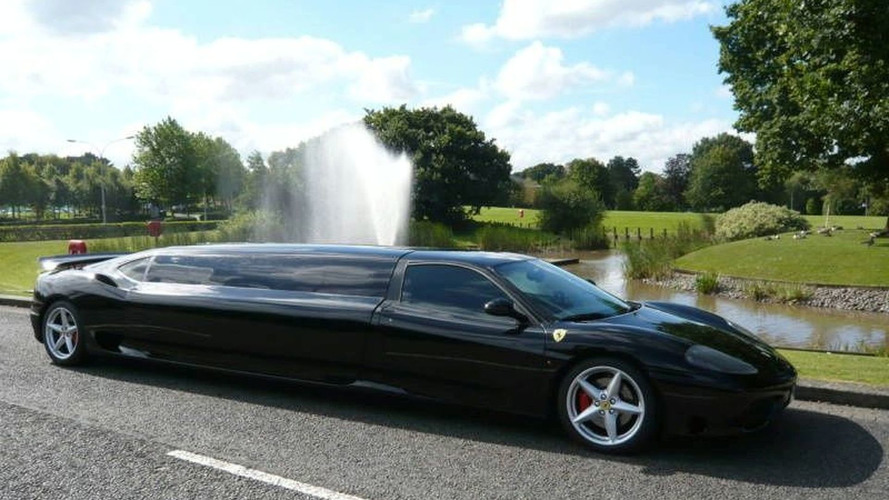 Want to own this Ferrari 360 Limousine?