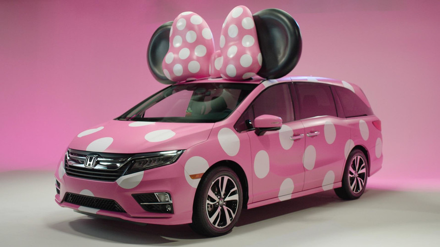 Honda debuts one-of-a-kind 'Minnie Van'