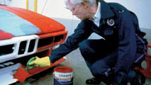 Andy Warhol painting BMW M1 Art Car