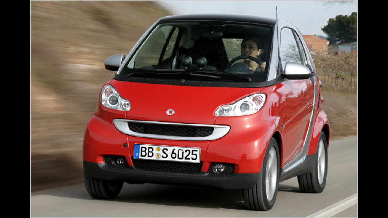 smart fortwo coupé 0.8 cdi pure softip DPF