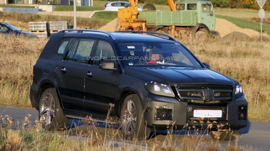 2012 Mercedes GL and GL63 AMG spied near Nürburgring
