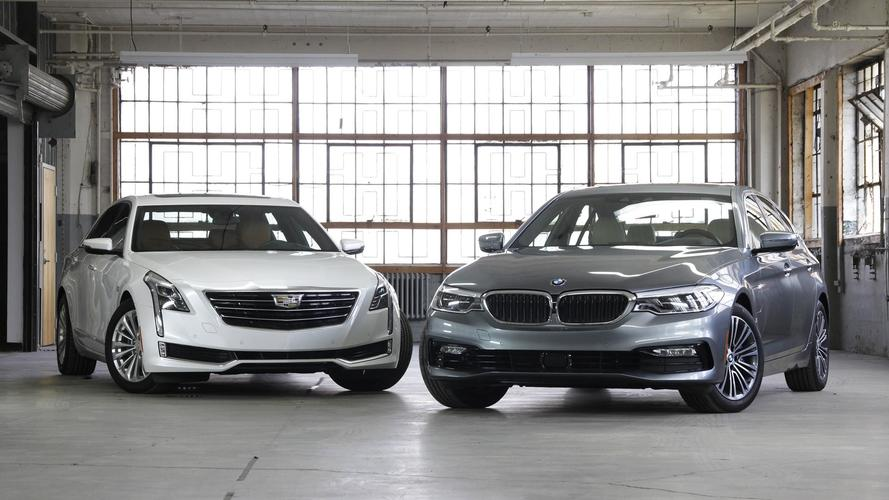 BMW 530e vs. Cadillac CT6 Plug-In: How Green Is Your Lux?