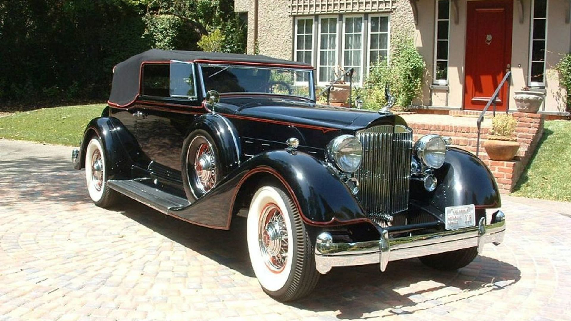 Retired Police Cars For Sale >> 1934 Packard V12 Convertible Victoria to Return to Pebble Beach