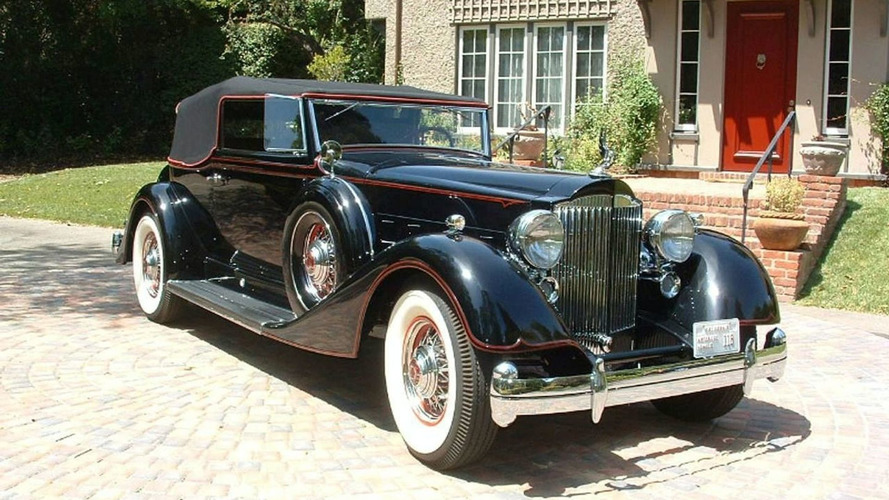 1934 Packard V12 Convertible Victoria to Return to Pebble Beach