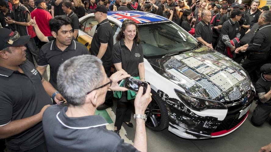 Toyota Closes Production In Australia After 54 Years