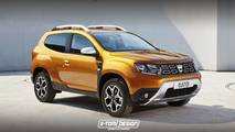 2018 Dacia Duster Three-Door render