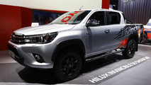 Toyota Hilux 'Invincible 50' live in Frankfurt