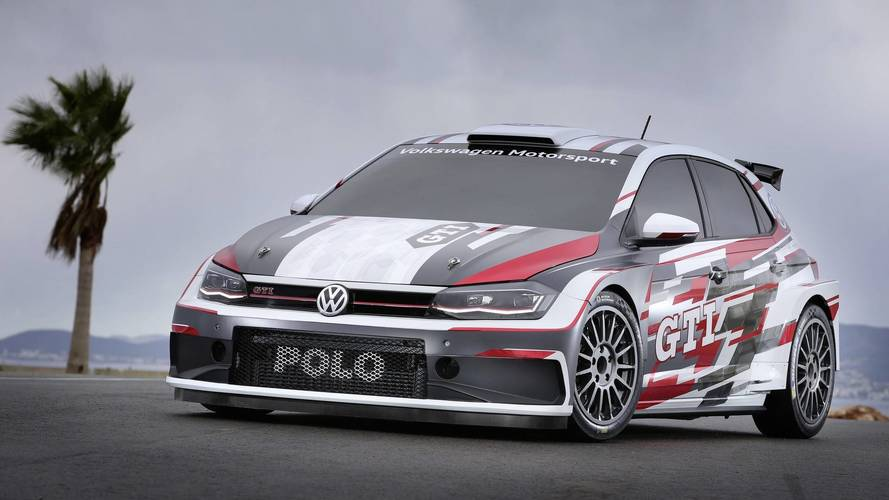 Volkswagen Polo GTI R5 rally vehicle revealed