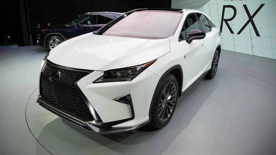 Lexus RX F with V8 engine could happen, but not in the near future