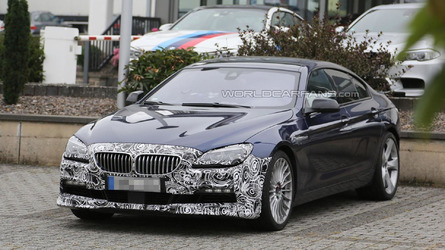 BMW Alpina B6 Gran Coupe Facelift Spied At The Nurburgring