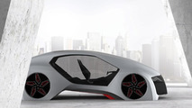 Audi Wood Aerodynamics concept by design student Adrian Mankovecký from the Academy of Fine Arts and Design in Bratislava 26.11.2012