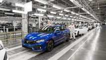 2017 Honda Civic Hatchback assembly
