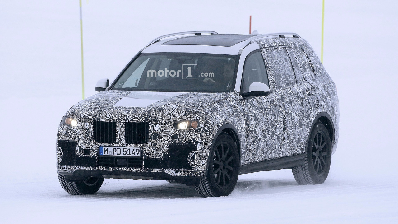BMW X7 2017 fotos espía