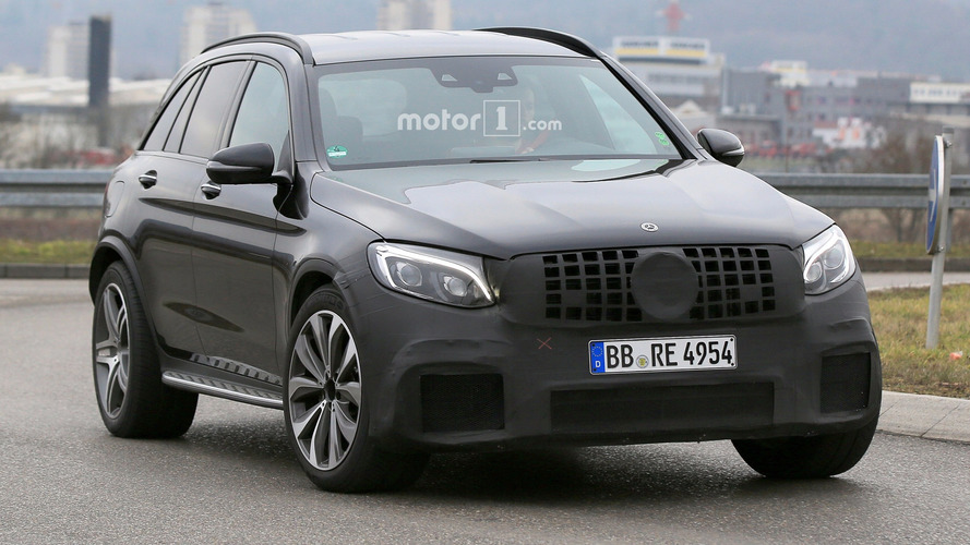 Mercedes-AMG GLC 63 spy photos