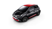 2017 Toyota Aygo x-press and x-style