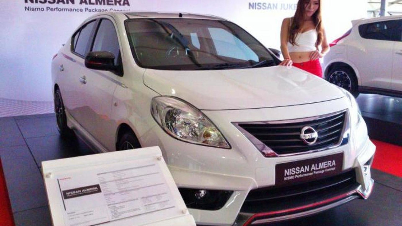 nissan almera nismo performance package concept 18 6 2013