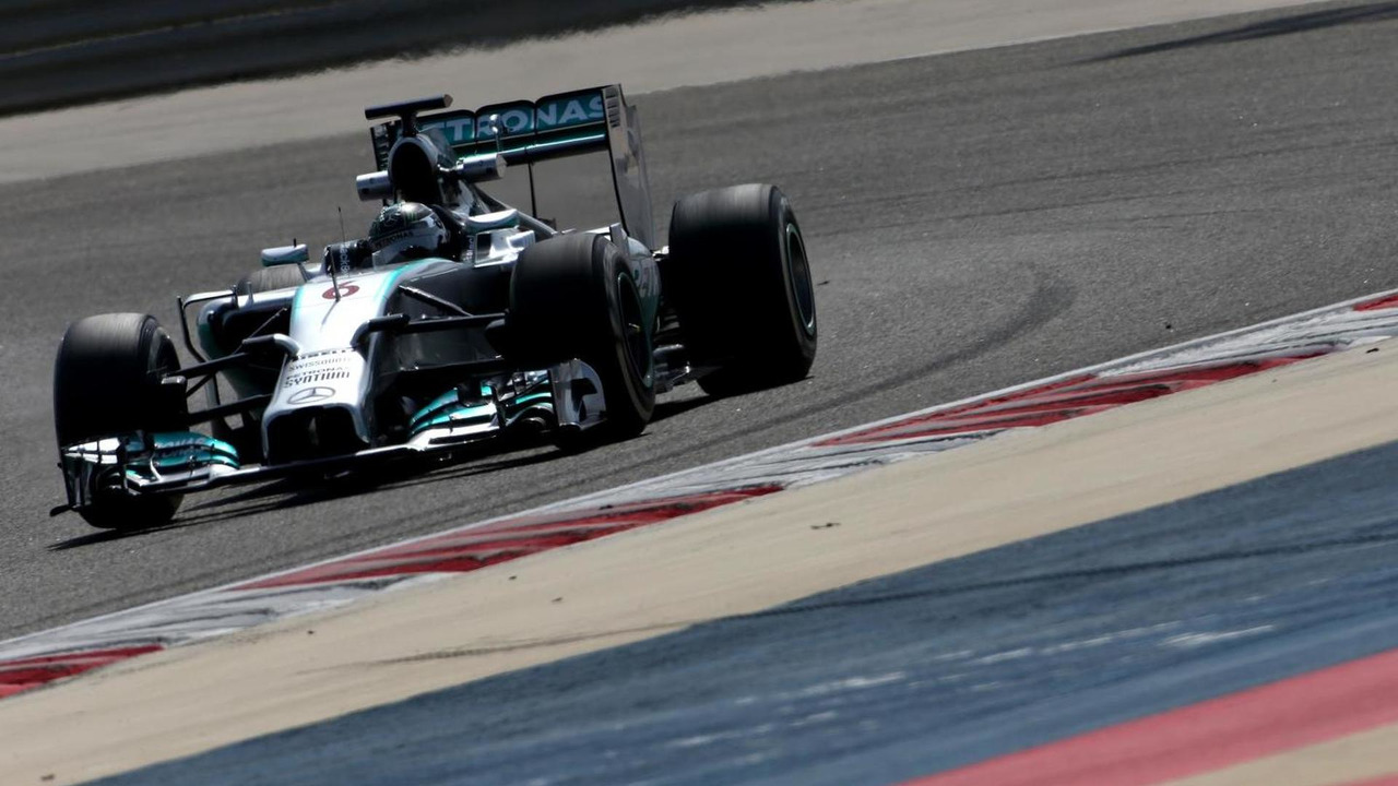 Nico Rosberg (GER), Mercedes AMG F1 Team 27.02.2014. Formula One Testing, Bahrain Test Two, Day One